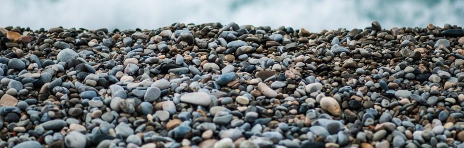 Torrance Family Law beach full of pebbles